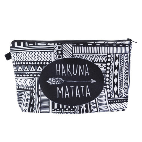 """Hakuna Matata"" Cosmetic Case - KD Connection Official Merchandise Store"