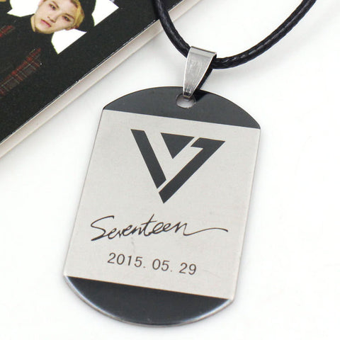 Seventeen Pendant Necklace