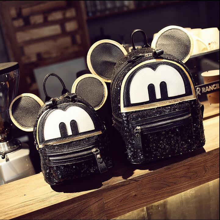 Sequin Mickey Mouse Backpack - KD Connection Official Merchandise Store