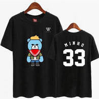 WINNER Member Cartoon Short Sleeve Tee