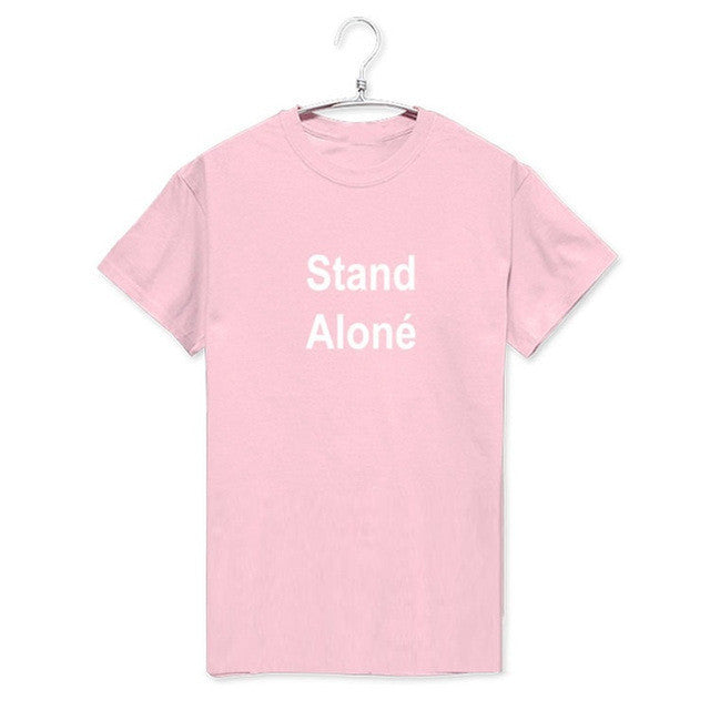 "BTS Jungkook ""Stand Alone"" Women Short Sleeve Tee - KD Connection Official Merchandise Store"
