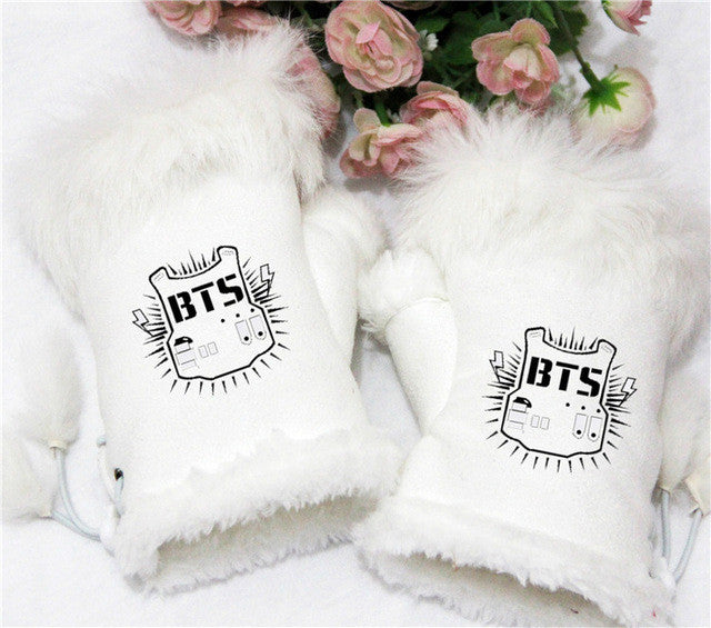 BTS Adjustable Mittens - KD Connection Official Merchandise Store