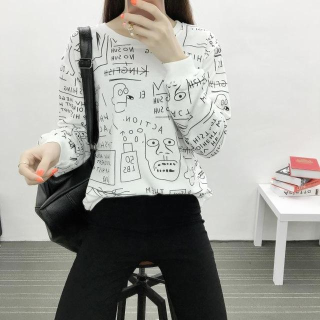 Cartoon Scribbles Pullover - KD Connection Official Merchandise Store