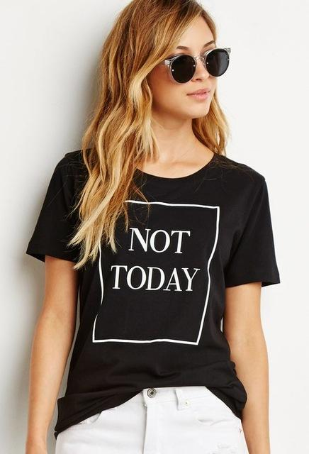 Exclusive 'NOT TODAY' T-Shirt - KD Connection Official Merchandise Store