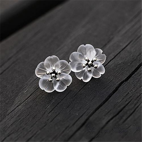"BTS ""Spring Day Blossom"" Stud Earrings - KD Connection Official Merchandise Store"