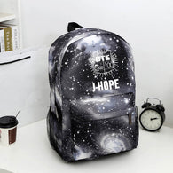 BTS Member Galaxy Backpack