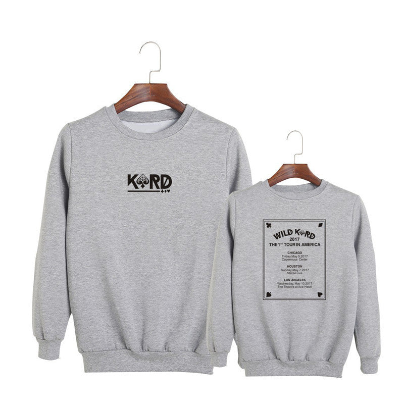 K.A.R.D 1st Tour Comfy Women's Pullover - KD Connection Official Merchandise Store