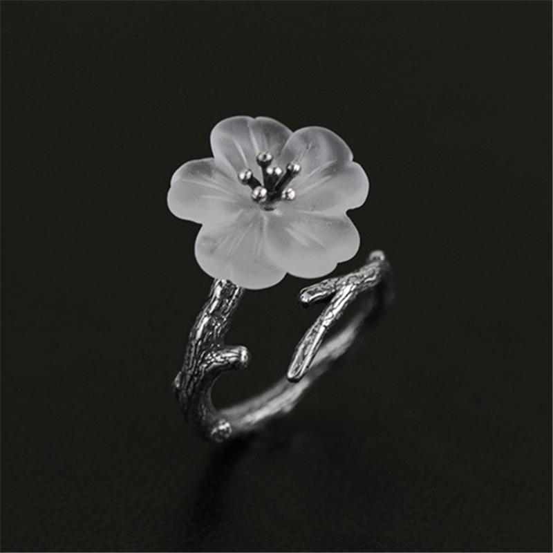 "BTS ""Spring Day Blossom"" Sterling Silver Ring - KD Connection Official Merchandise Store"