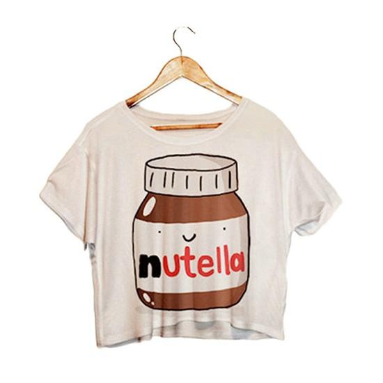 "Kawaii ""Nutella"" Summer Tops - KD Connection Official Merchandise Store"