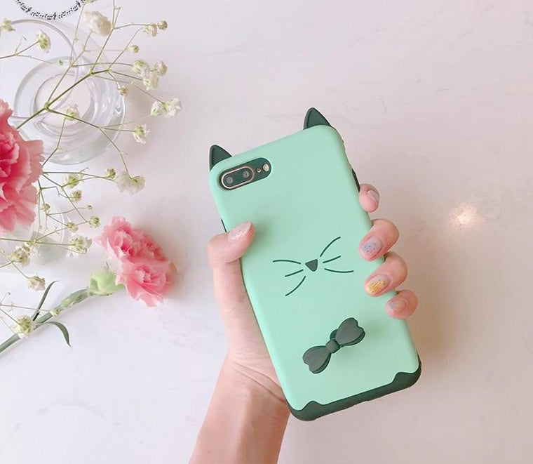 3D 'Kitty Cat' iPhone Case