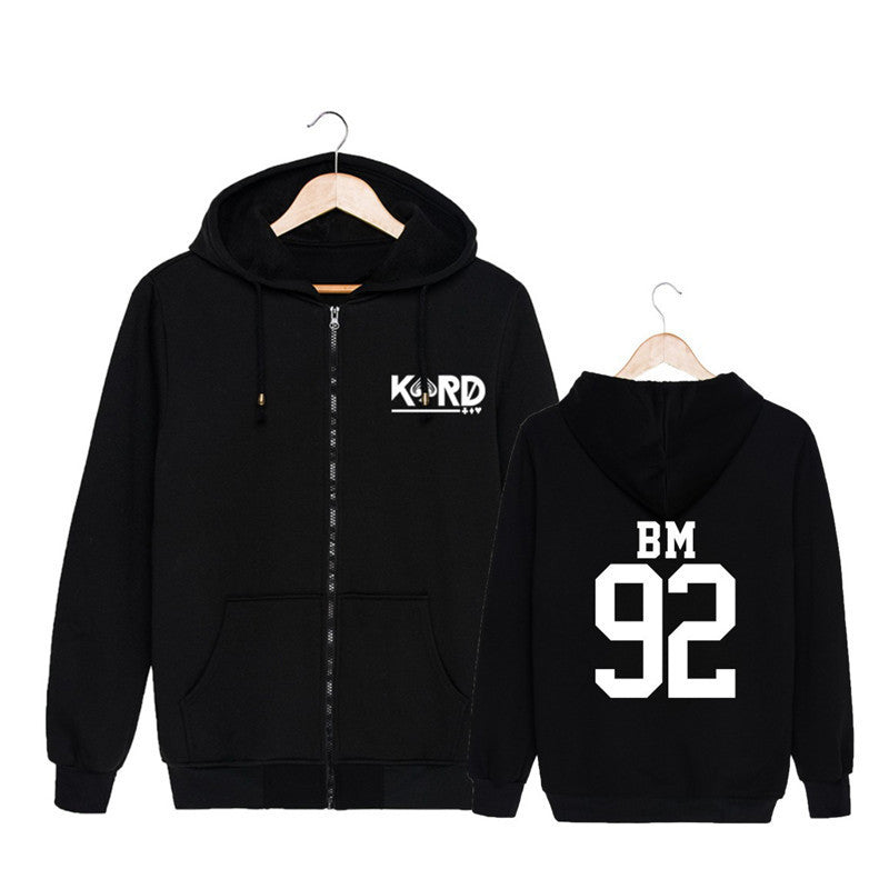 K.A.R.D Member Zipup Comfy Hoodie - KD Connection Official Merchandise Store
