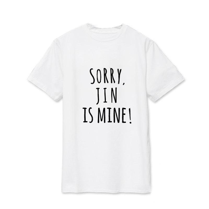 """SORRY BUT HE IS MINE"" BTS Member Tee - KD Connection Official Merchandise Store"