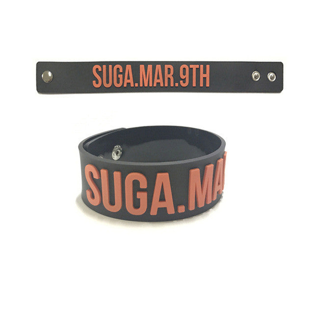 BTS Birthday Silicone Bracelets - KD Connection Official Merchandise Store