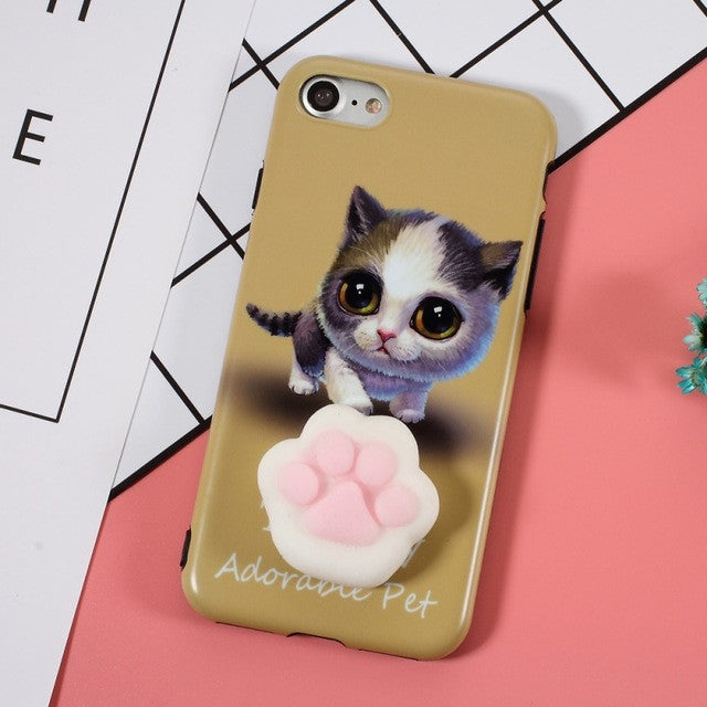 Squishy Animals For Phone : Squishy Cute Animals iPhone 7 Phone Case Collection ? K-Drama Connection