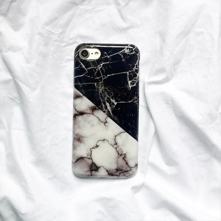 Black and White Marble iPhone Case Collection