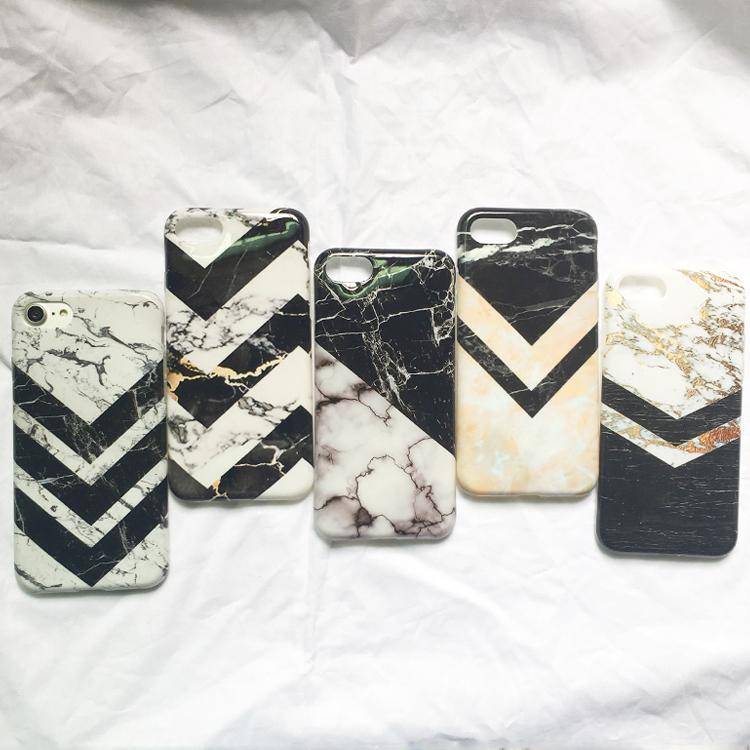 Black and White Marble iPhone Case Collection - KD Connection Official Merchandise Store