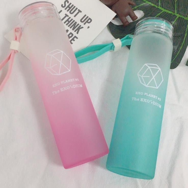 EXO Frosted Gradient Water Bottle Collection - KD Connection Official Merchandise Store