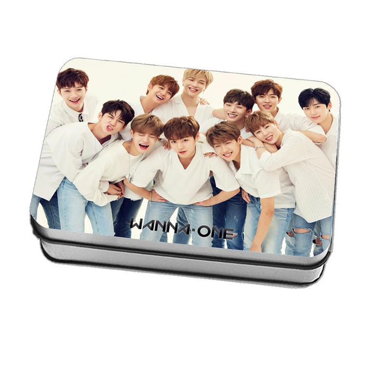 Wanna One Lomo Cards with Special Edition Tin