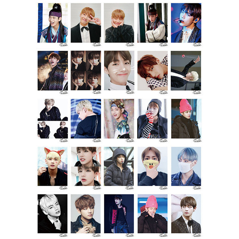 BTS V Lomo Cards with Special Edition Box