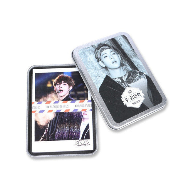 BTS V Lomo Cards with Special Edition Box - KD Connection Official Merchandise Store