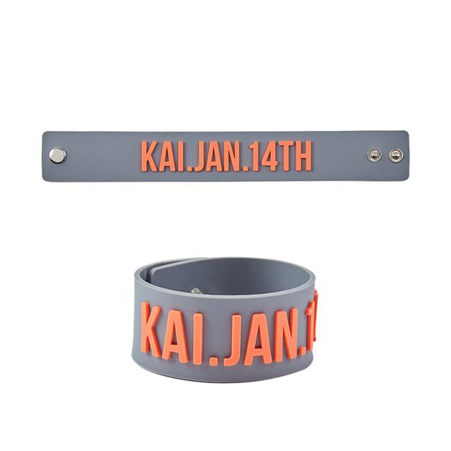 EXO Birthday Silicone Bracelets - KD Connection Official Merchandise Store
