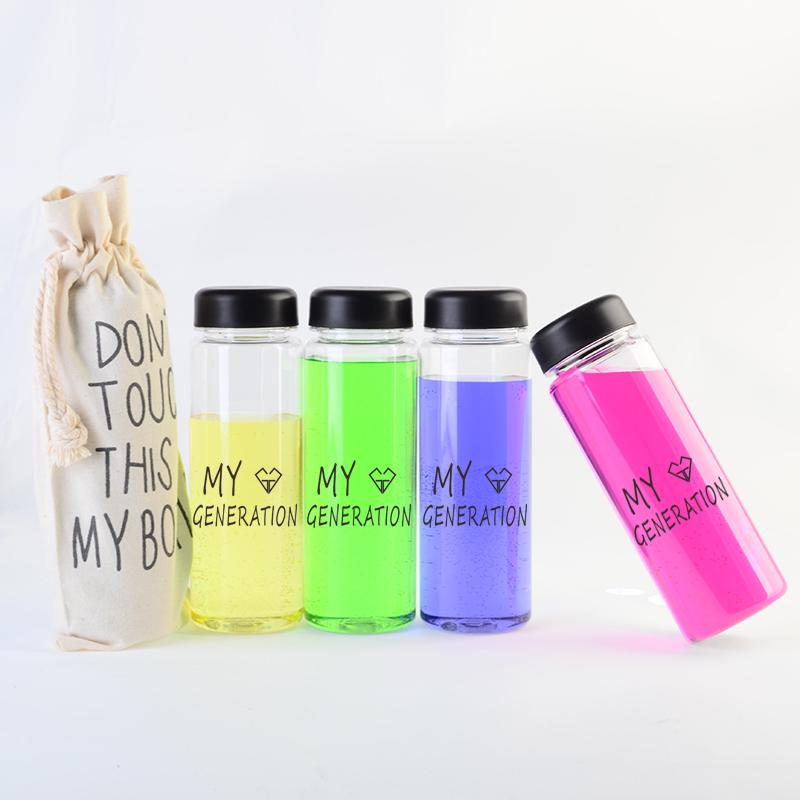Girls Generation Clear Water Bottle - KD Connection Official Merchandise Store