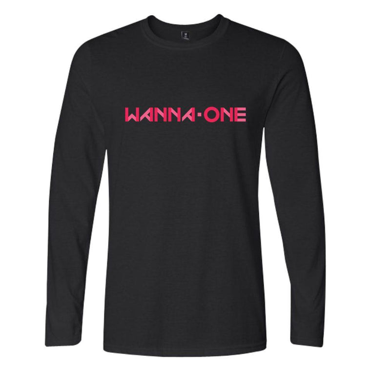 'WANNA ONE' full sleeve T-shirt