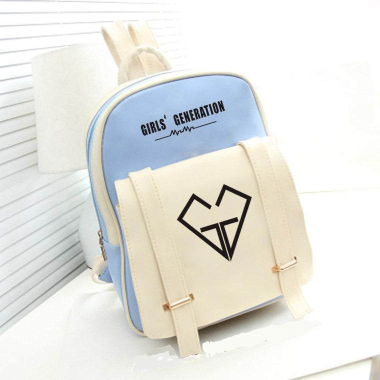 Girls Generation Leather Backpack