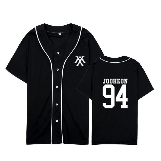 MONSTA X Member Baseball T-Shirt