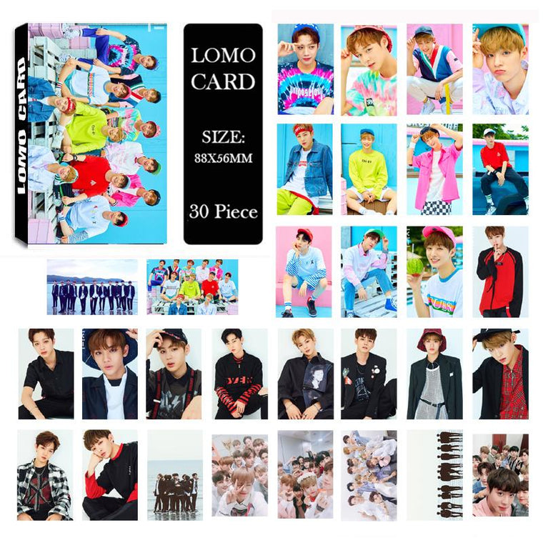 Wanna One Debut Lomo Card Collection