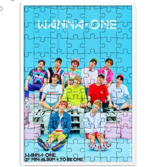WANNA ONE 120 Piece Member Puzzle