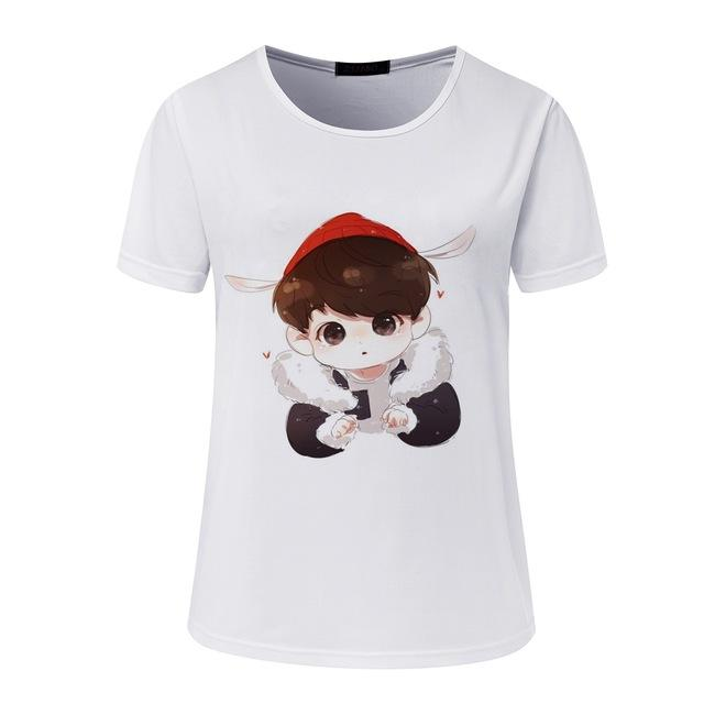 BTS 'Cartoon Lovely' T-Shirt