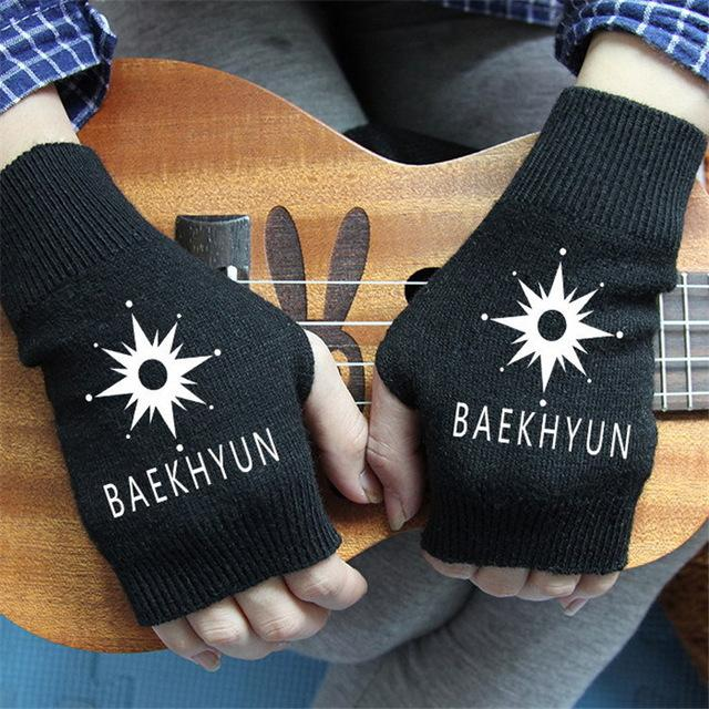 EXO FIngerless Glove Collection - KD Connection Official Merchandise Store