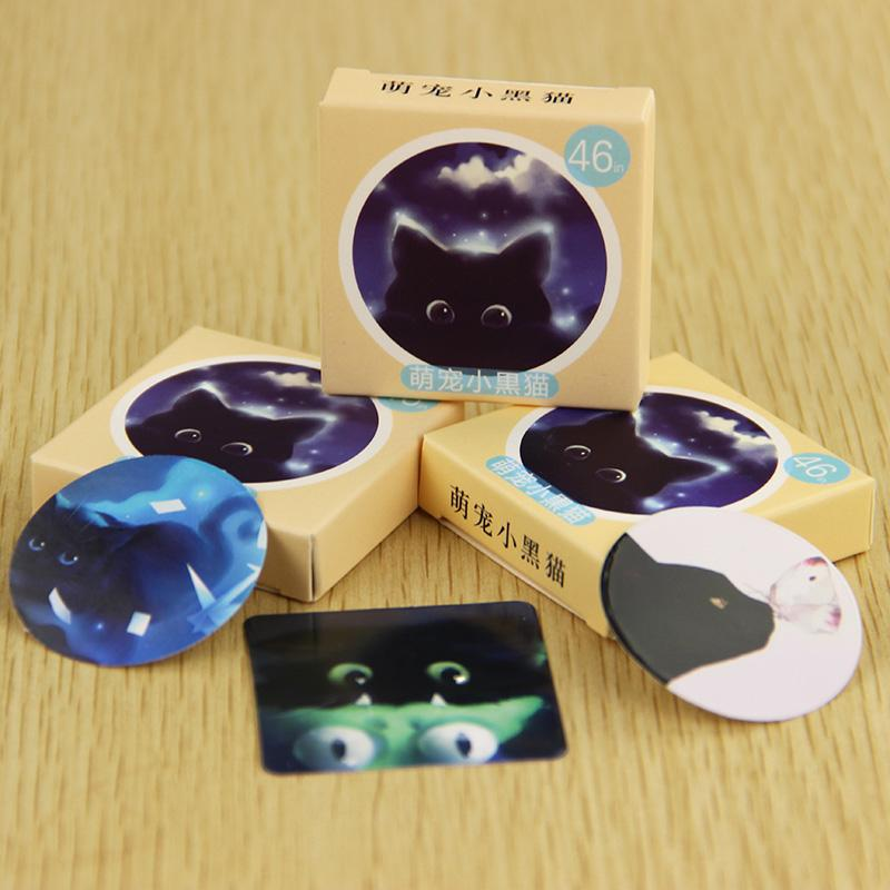 Black Cat Planner Sticker Collection - KD Connection Official Merchandise Store
