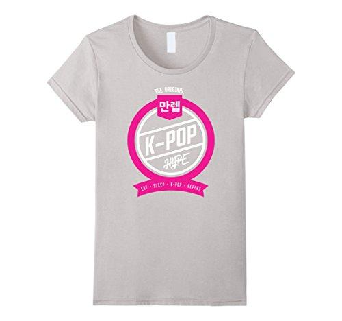 Eat, Sleep, K-Pop, Repeat Logo Tee - KD Connection Official Merchandise Store