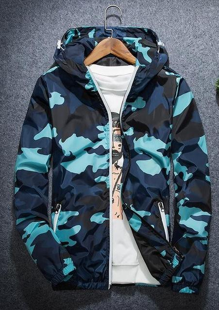 Camo Unisex Windbreaker Jacket - KD Connection Official Merchandise Store