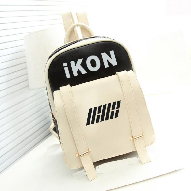 iKON Leather Backpack - KD Connection Official Merchandise Store