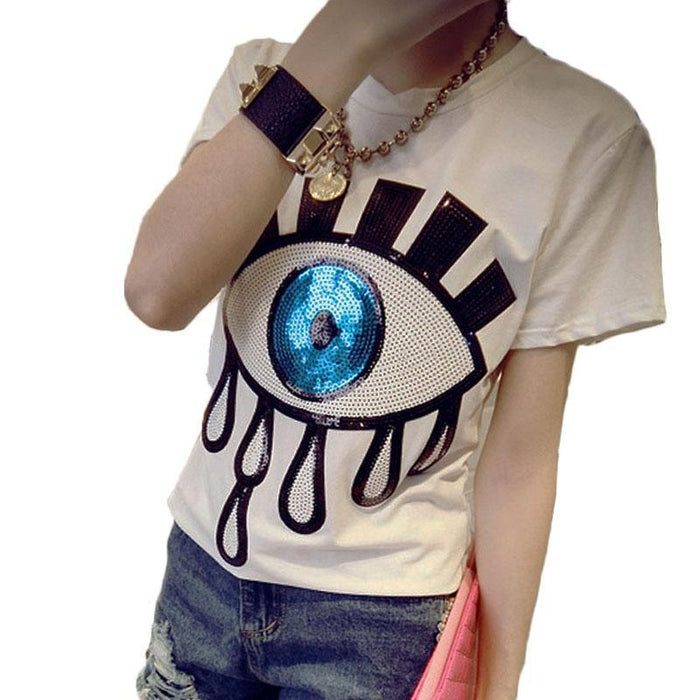 "kawaii ""EYE"" Summer T-shirt - KD Connection Official Merchandise Store"