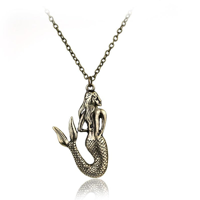 Blue Sea Fairy Mermaid Necklace - KD Connection Official Merchandise Store