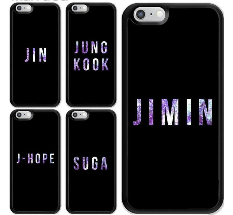 BTS Bangtan Boys iPhone Case Collection