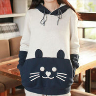 """Kitty Smile"" Comfy Hoodie - KD Connection Official Merchandise Store"