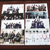 BTS All Members Wall Picture Set
