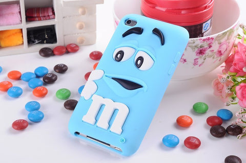 M&M Cartoon iPod Touch 4 Protective Case - KD Connection Official Merchandise Store