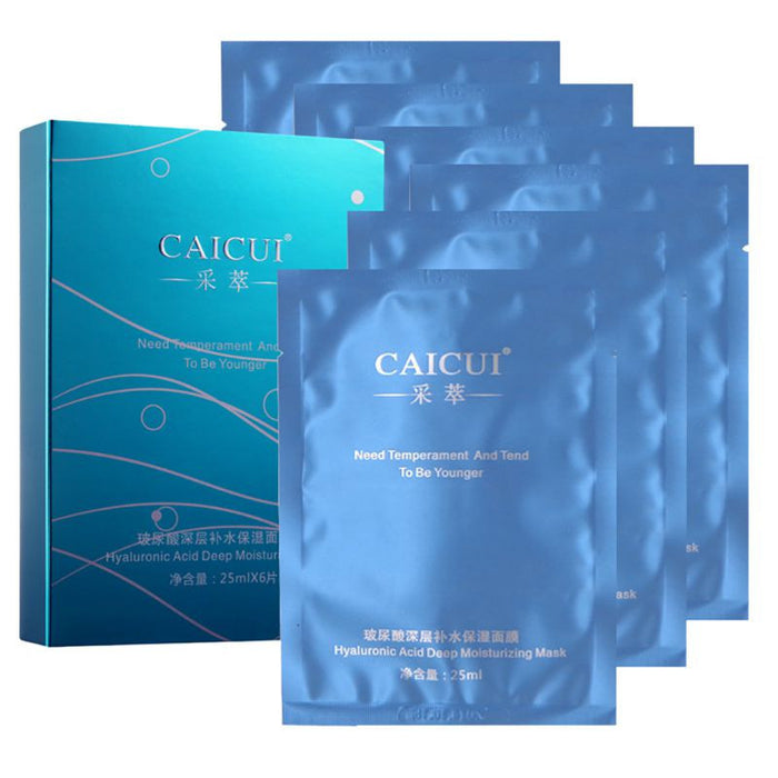 6 Pack Caicui Deep Moisturizing Skin Care Face Mask - KD Connection Official Merchandise Store
