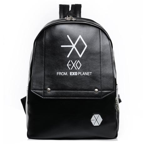 EXO Planet Leather Backpack