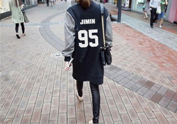 BTS Army Long Baseball Jacket - KD Connection Official Merchandise Store