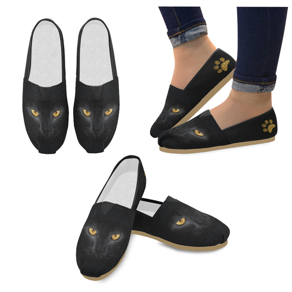 Cat Eyes Casual Canvas Shoes
