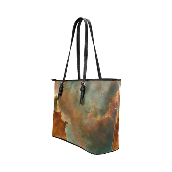 Space Leather Tote Bag (Large)