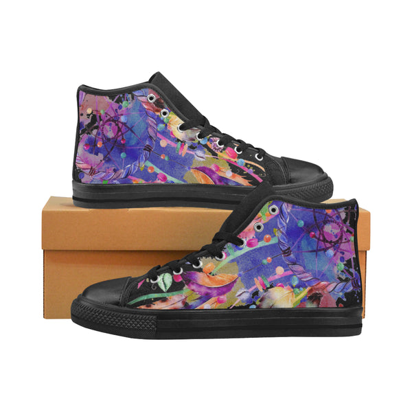 High Top Canvas Womens Shoes - Dream Catcher