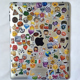 Emoji Die Cut Sticker Packs, are used for iphone, notebooks, messages